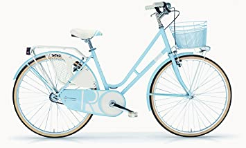 Bicicleta Elegante Mujer MBM Riviera 26 Pulgadas Bastidor y Cesta ...