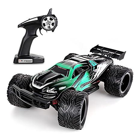 Amzdeal Auto RC Escala 1:12, 2.4GHz, coche eléctrico
