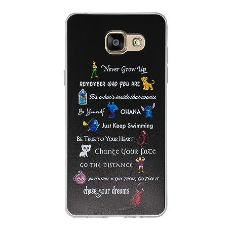 c6ffdad7cd312c Disney Citation Étui Coque de Téléphone pour Samsung Galaxy A3 2016   Silicone  Doux Gel
