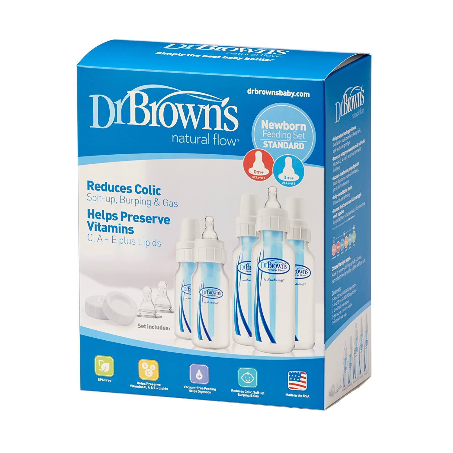 Dr. Brown's BPA Free Natural Flow Baby Bottle