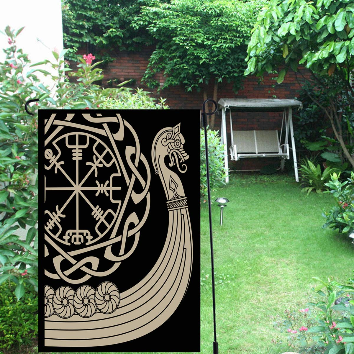 Amazon.com: Ahawoso - Bandera de jardín para exteriores ...