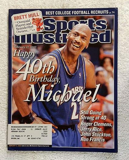 df33c8eeb0e6c8 Michael Jordan turns 40 - Washington Wizards - Sports Illustrated -  February 17