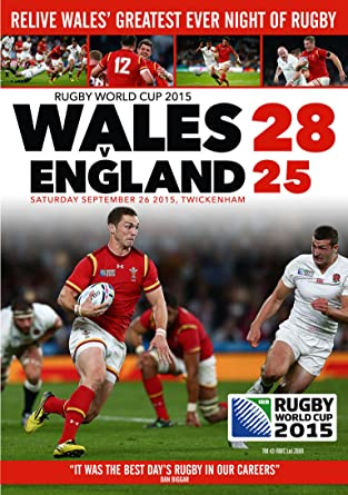 ce191706003 Rugby World Cup 2015: Wales v England [DVD]: Amazon.co.uk: DVD & Blu-ray