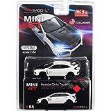 2017 Civic Type R LHD FK8 New DIECAST Toys CAR MINI GT 1:64 MIJO Exclusive Crystal Black - MGT00015-MJ
