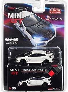 1//64 TSM MINI GT Honda Civic Type R FK8 Crystal Black Right Hand Side In Stock