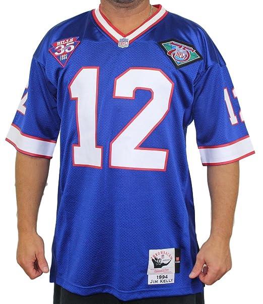 low priced 244e1 ffa2f Amazon.com: Mitchell & Ness Jim Kelly Buffalo Bills ...