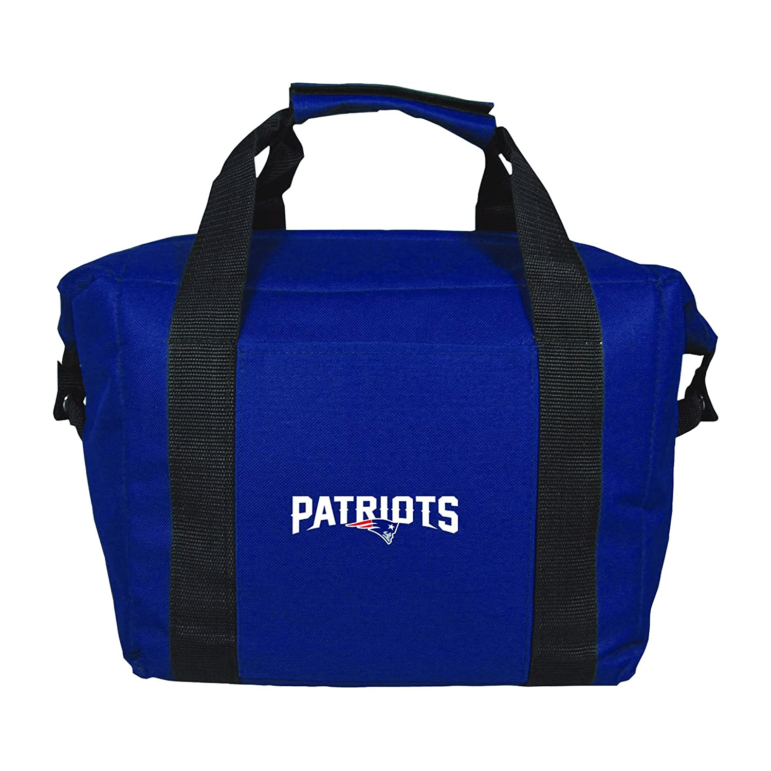 NFL New England Patriots Soft Sided 12-Pack Cooler Bag