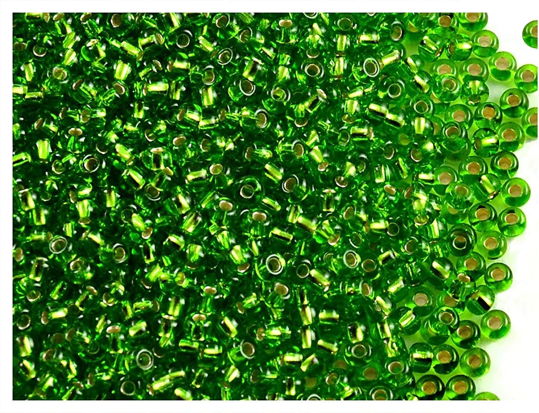 Luster Transparent Mix Preciosa Ornela Czech Seed Bead Size 6//0