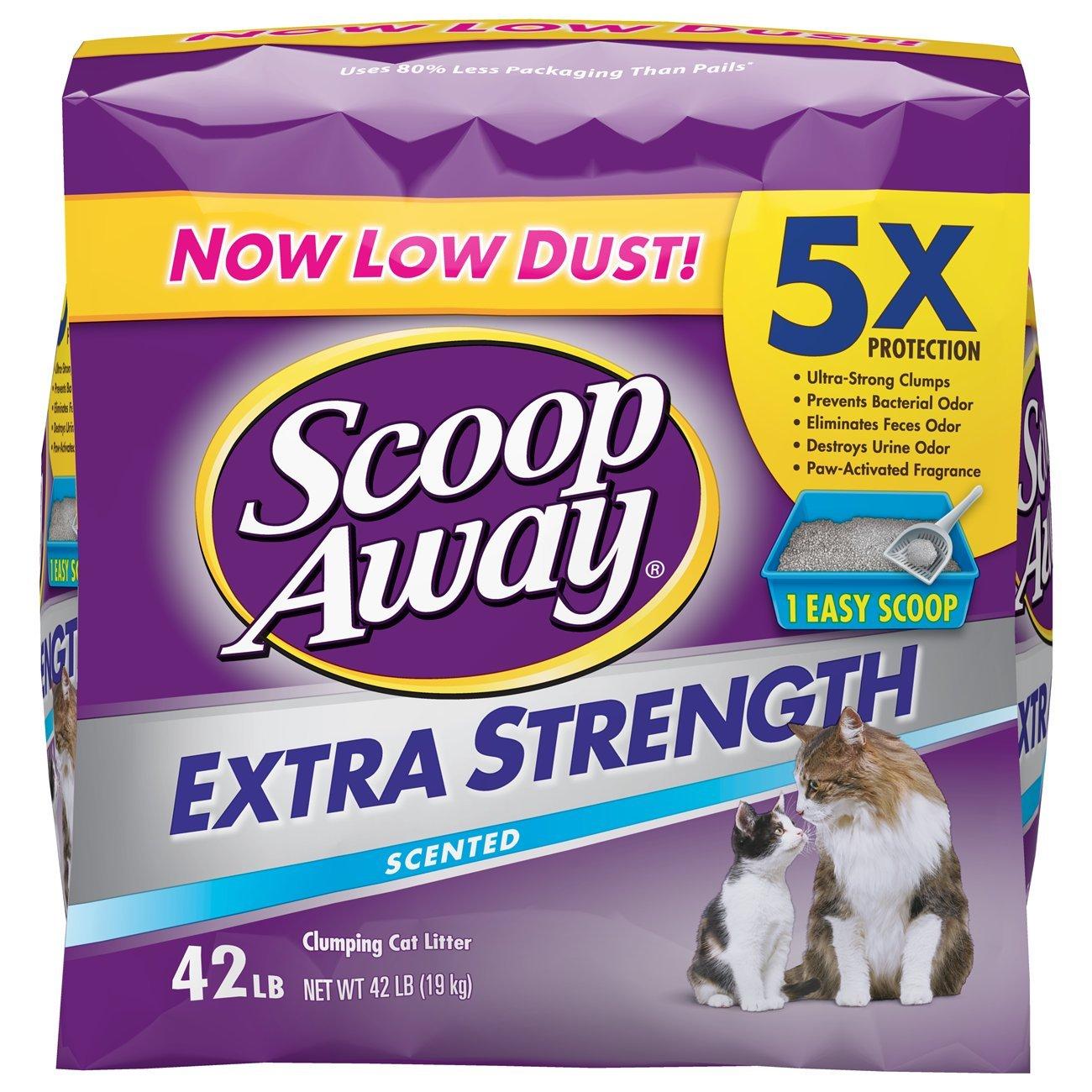 Scoop Away Extra Strength Scented Litter