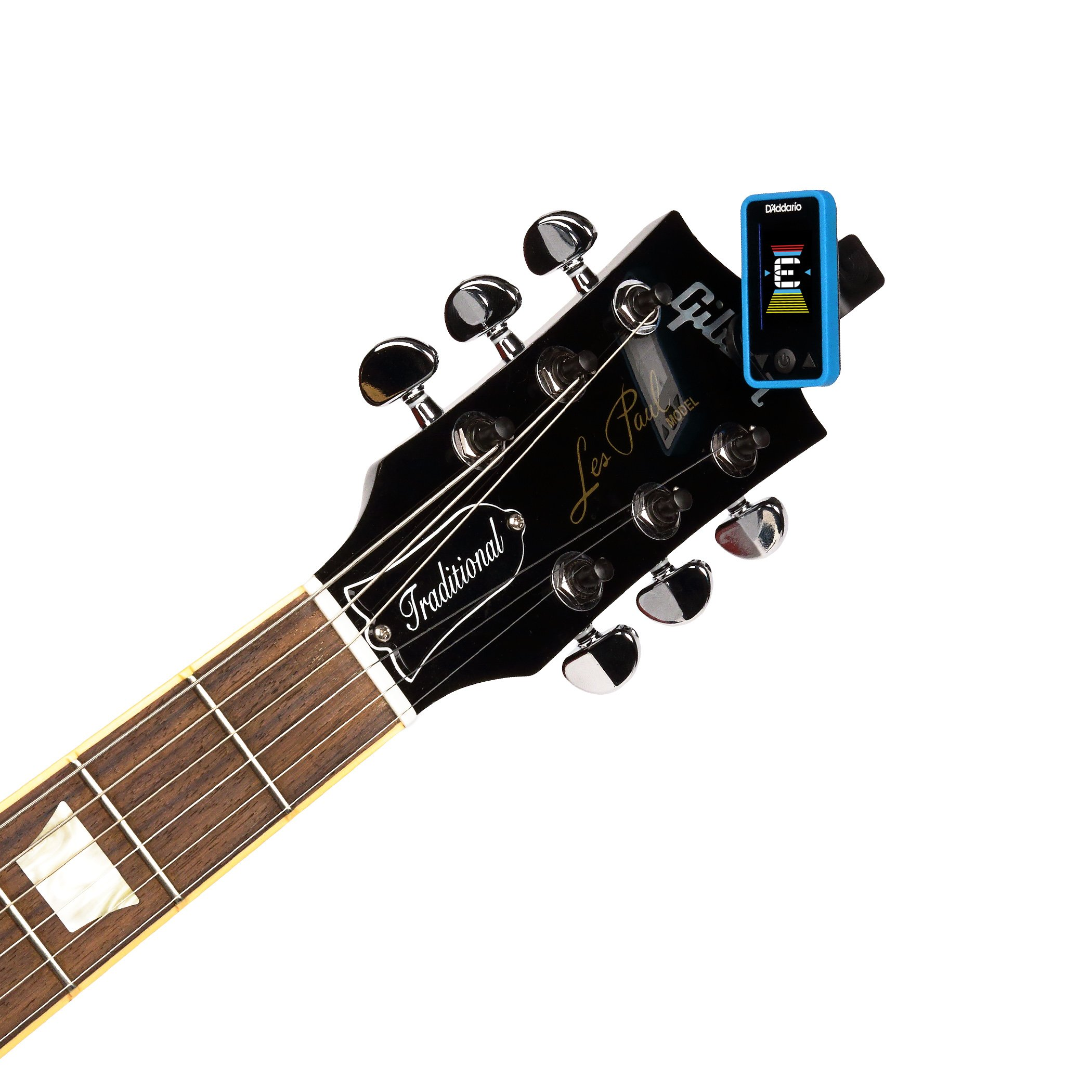 D'Addario Accessories Eclipse Headstock Tuner, Blue by Planet Waves (Image #3)