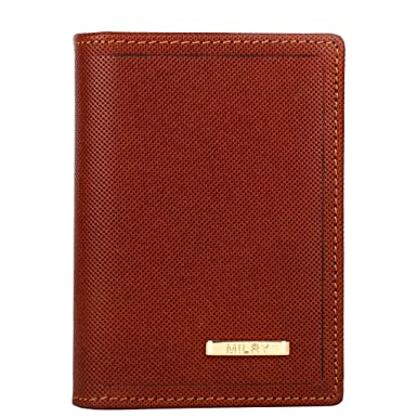 0cb4df96da2 Image Unavailable. Image not available for. Color  Milry Men s Executive  Slim Fold Genuine Leather Wallet ...