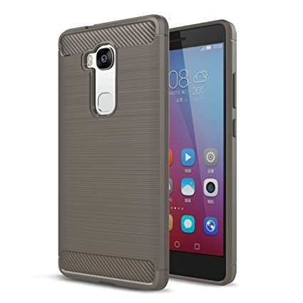free shipping dd382 3f85a Amazon.com: Huawei Gr5 Case,Huawei Honor 5X Case,Valenth Carbon ...
