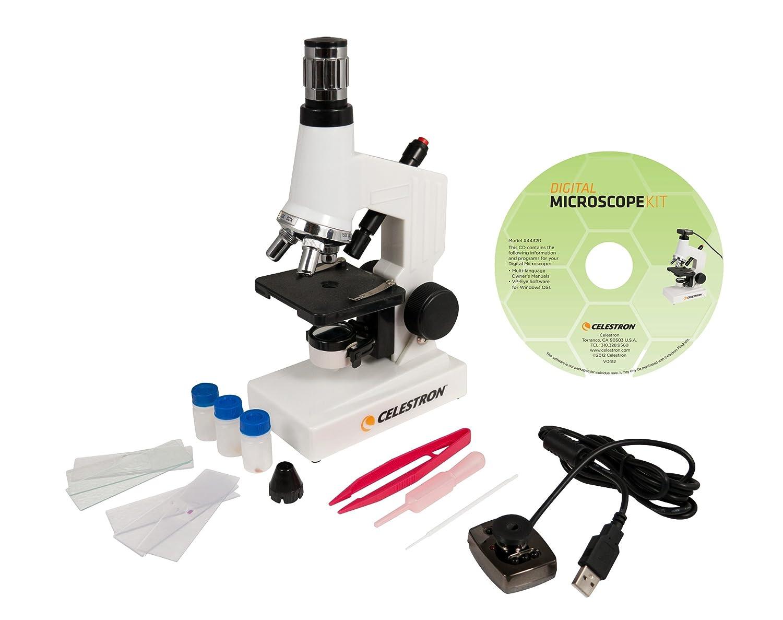 Celestron 44320 Microscope Digital Kit MDK (White)