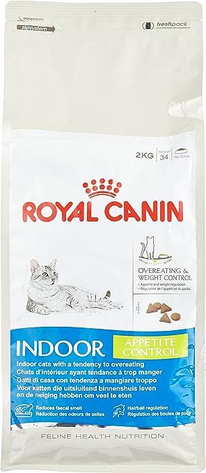 Royal Canin Comida para gatos Indoor Appetite 2 Kg: Amazon.es ...