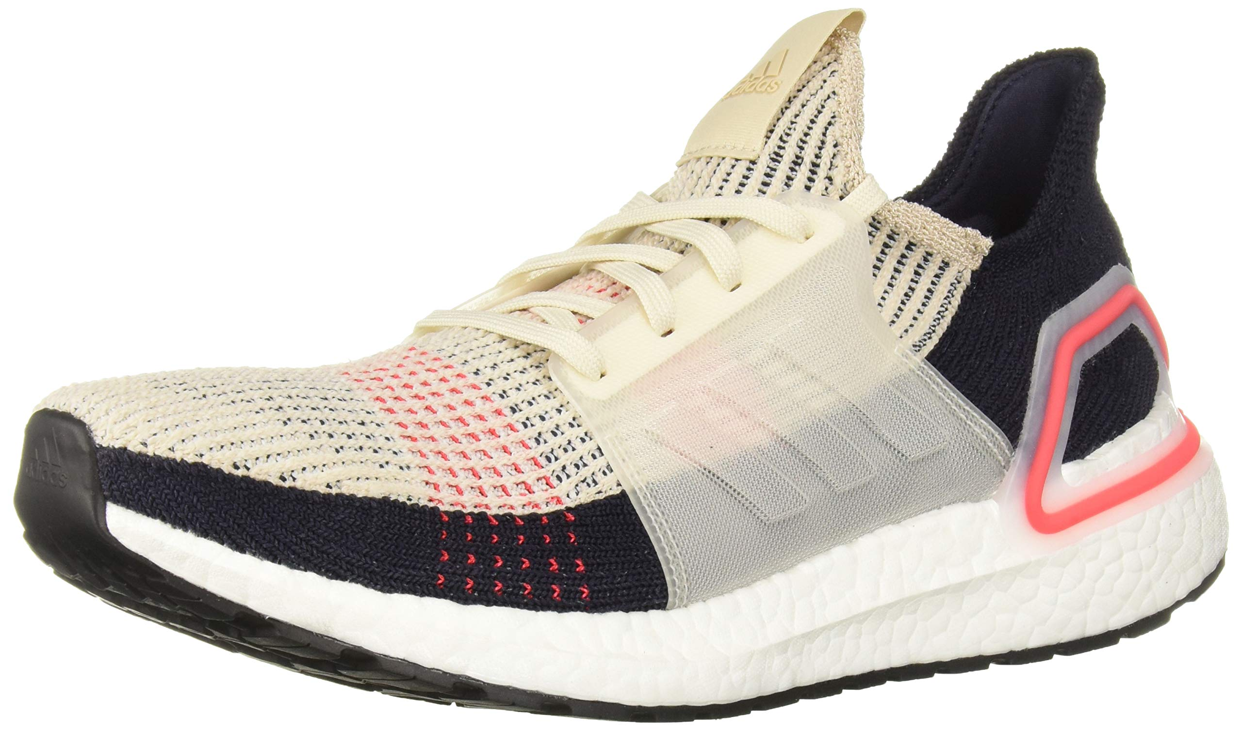 adidas Women's Ultraboost 19, Clear Brown/White/Legend Ink, 10.5 M US by adidas