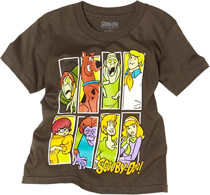 Scooby Doo Kids Crew Neck 100/% Soft Cotton Short Shirts Tees T-Shirts