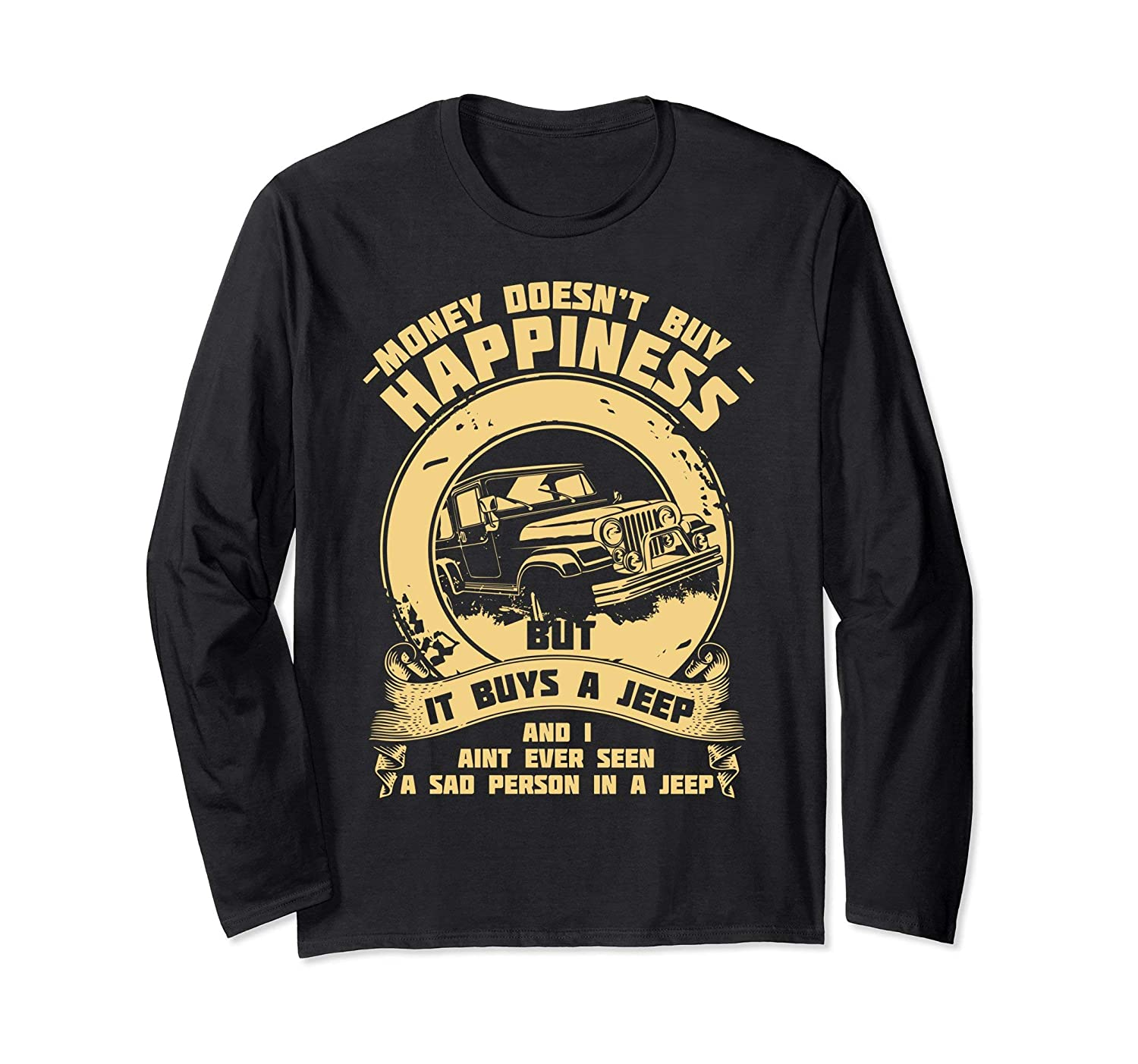 Funny Offroad Driving Long Sleeve Shirt For Jeep 4X4 Drivers-Teehay