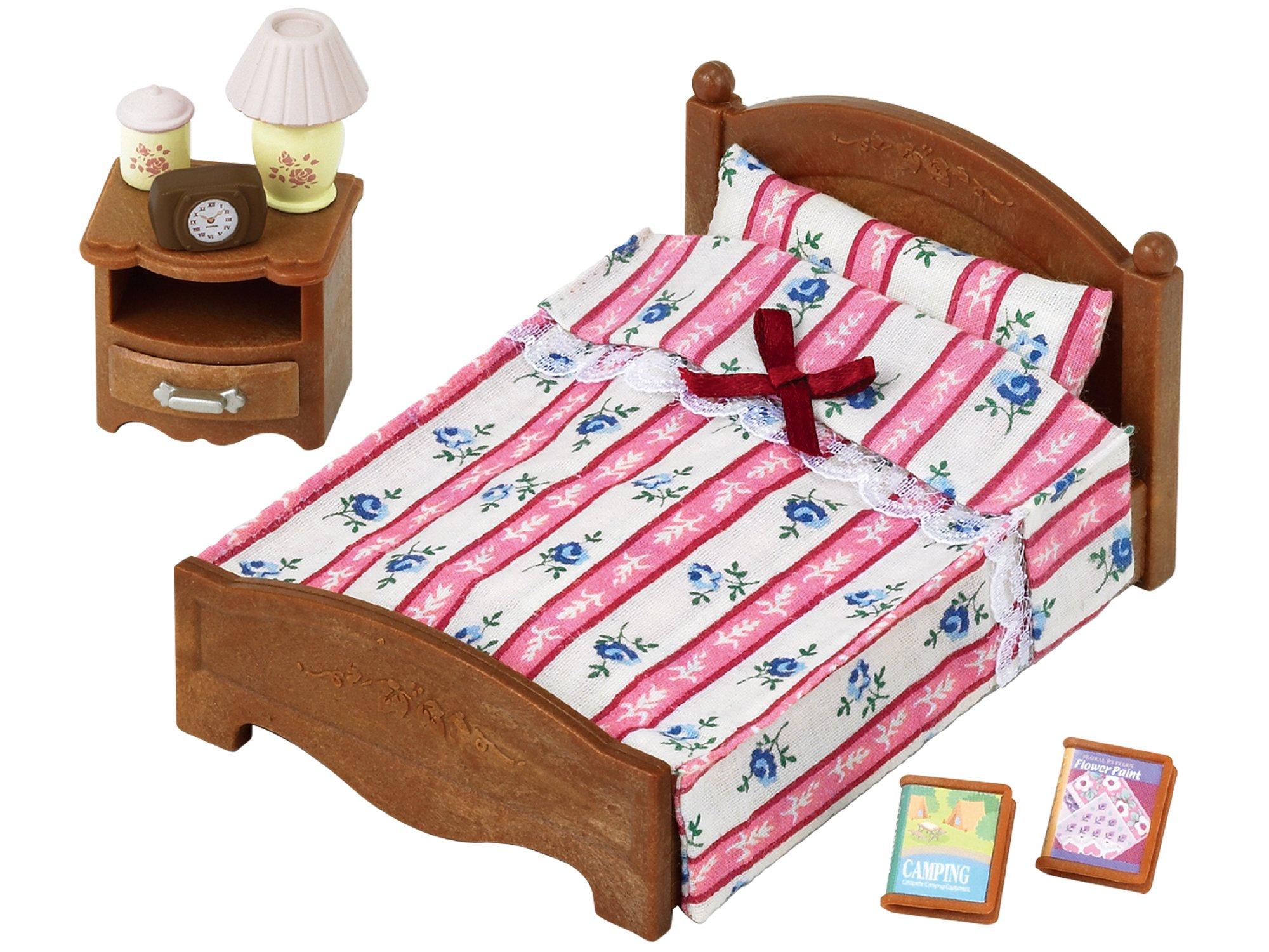 Sylvanian Families 5019 - Cama semi doble - Muñecas y accesorios - Sylvanian product image