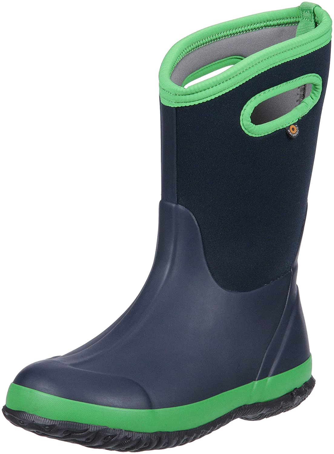 Bogs Kids' Classic High Waterproof Insulated Rubber Neoprene Rain Boot Snow Kids Classic