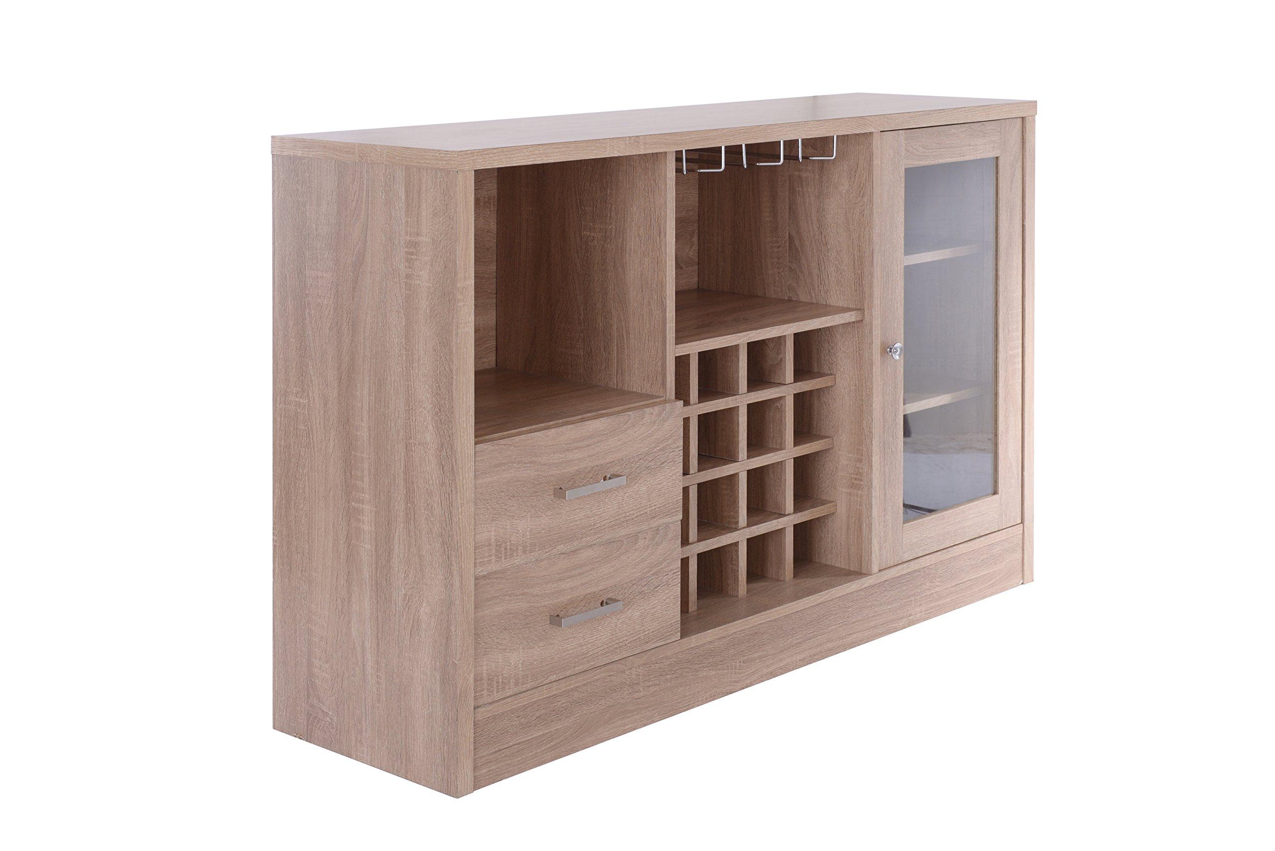 Acme Furniture 72635 Joice Rustic Oak Server by Acme Furniture (Image #1)