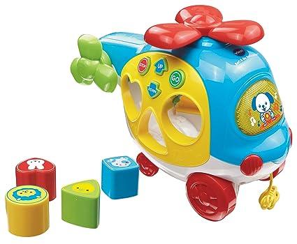 Amazon.com: VTech Formas y sonidos helicóptero: Toys & Games