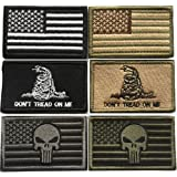 Bundle 6 Pieces Tactical Military Morale Patch Set (A)