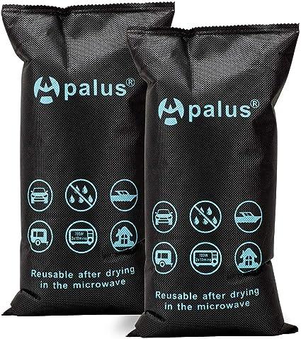 Apalus ® Bolsa Antihumedad Reutilizable para Coches. Absorbe Humedad con Gel De Sílice, Para Ventanas Empañadas. Deshumidificador De Barco, Electrónica (2X 1KG). Incluye 1 Alfombrilla Antideslizante: Amazon.es: Coche y moto
