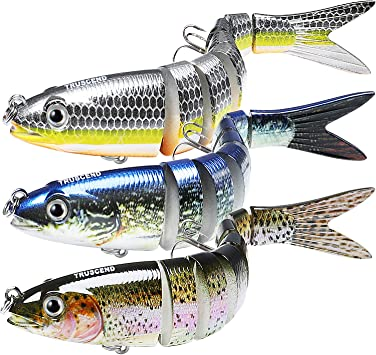 TRUSCEND Fishing Lures for Bass, Trout & Saltwater