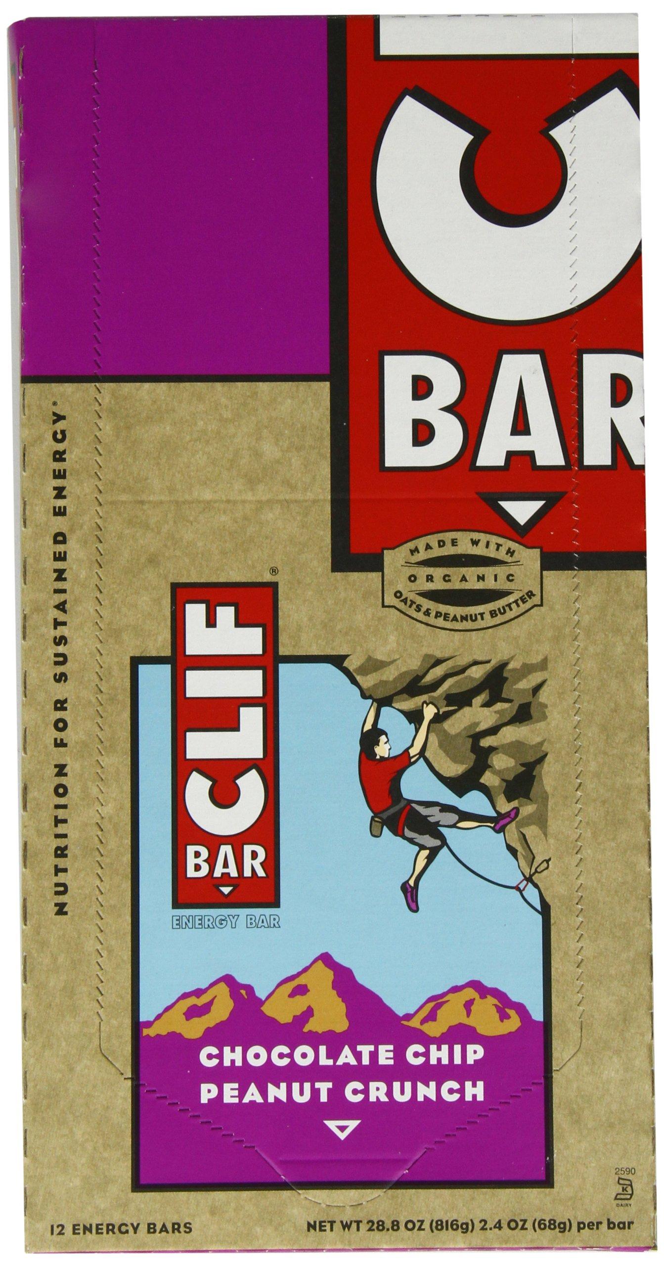 Clif Bars: Chocolate Chip Peanut Crunch by Clif Bar