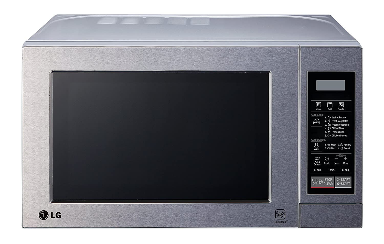 LG MH6044V - Microondas, 800 W, 20 l, color gris: Amazon.es ...