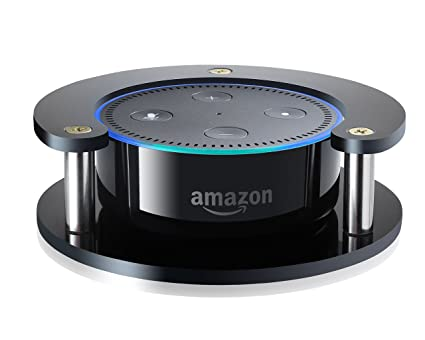 #1 Echo Dot Speaker Stand (Black) – Precision Fit Holder for Enhanced  Stability, Protection and Audio Clarity – Lightweight Accessories for Home  or