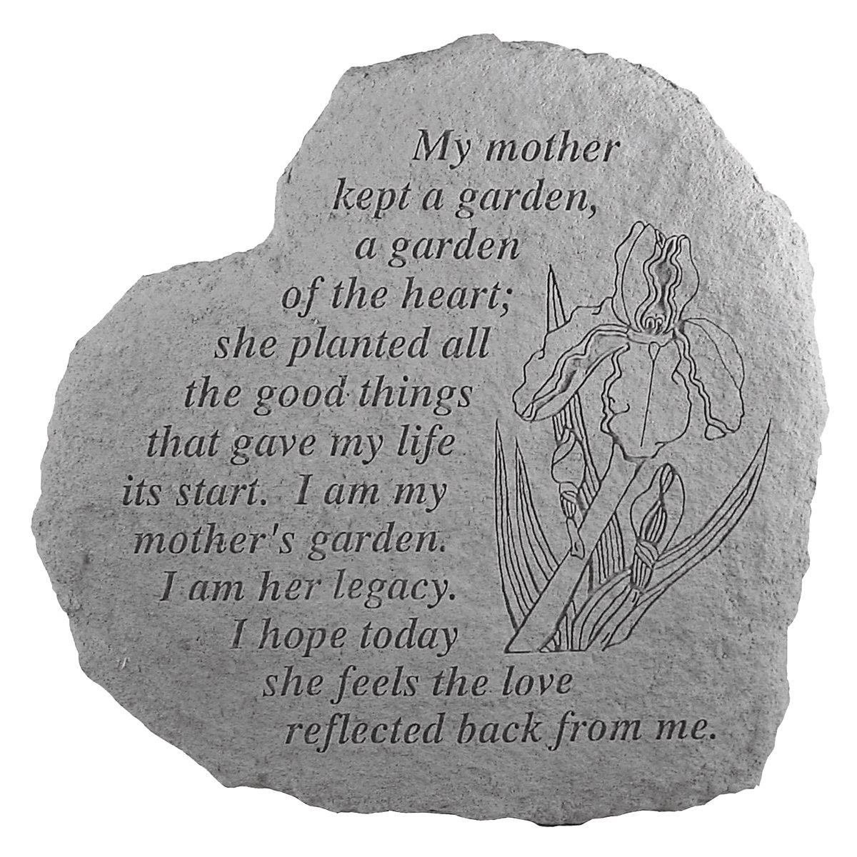 Mother's Garden...Memorial Garden Marker Stepping Stone