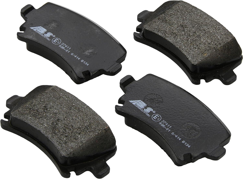 ABS All Brake Systems bv 37411 Pastiglie freno