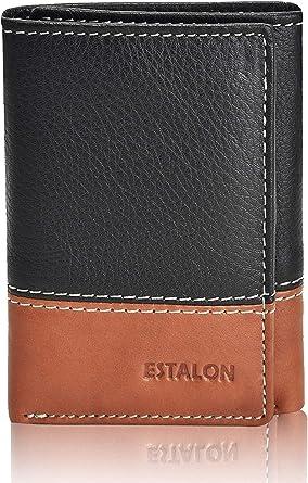 Wallets Mens RFID Blocking with Leather Key Holder,Trifold Slim Genuine...