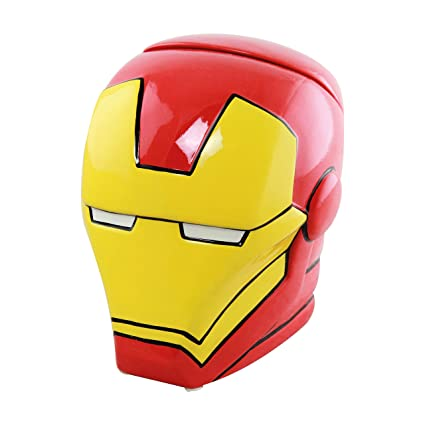 0d6365bc4 Image Unavailable. Image not available for. Colour: Marvel Iron Man Cookie  Jar ...