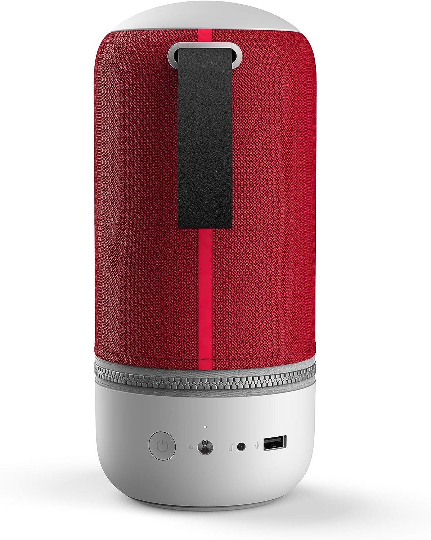 Libratone Zipp Mini 2 - Altavoz inteligente con Alexa integrada multiroom, color rojo (Cranberry Red): Amazon.es: Electrónica