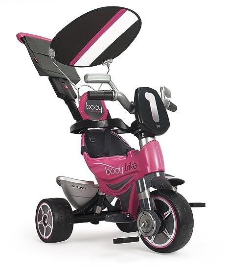 INJUSA - Triciclo Infantil Body Sport para niños a Partir de 10 Meses evolutivo con Rueda