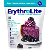 Xlear Erythrolite Erythritol Sugar Substitute - Natural and Organic Plant-Sourced Keto Friendly Sweetener (5 Pound Bag) (5 pound)