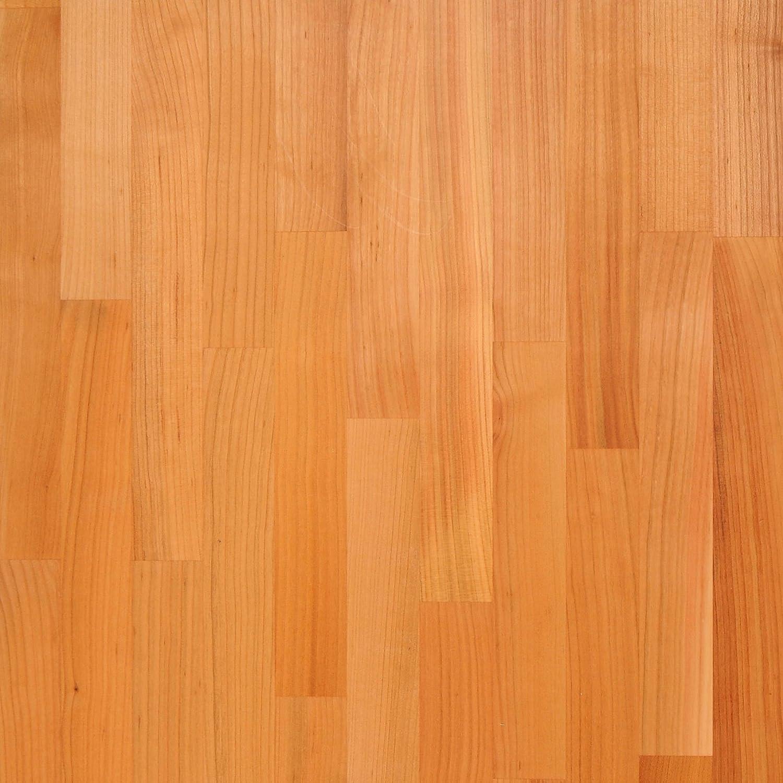 WORKTOPEXPRESS Solid Cherry Timber Block Worktops 2000mm x 620mm x 40mm Worktop Express