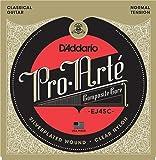 D'Addario Cordes composites pour guitare classique D'Addario Pro-Arte EJ45C, Normal