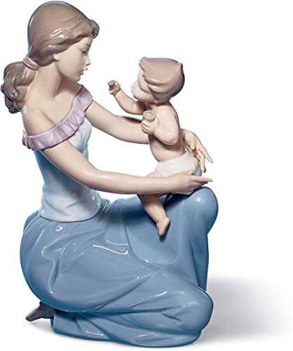 LLADR One for You One for Me Mother Figurine. Porcelain Mother Figure.