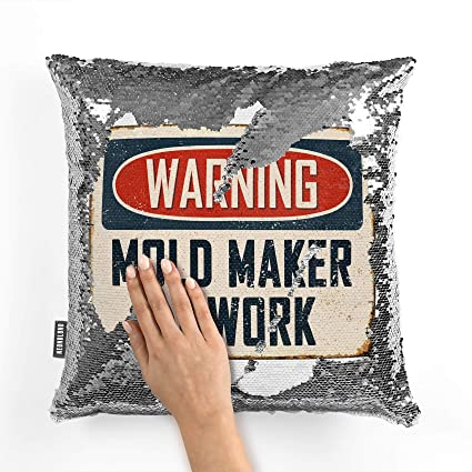 Amazon com: NEONBLOND Mermaid Pillow Cover Warning Mold Maker at