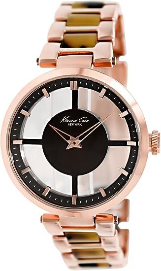 Kenneth Cole KC4766 - Reloj analógico de cuarzo para mujer con correa de acero inoxidable,
