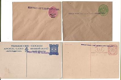 Rare Indian States ~ Hyderabad and Cochin - Travancore