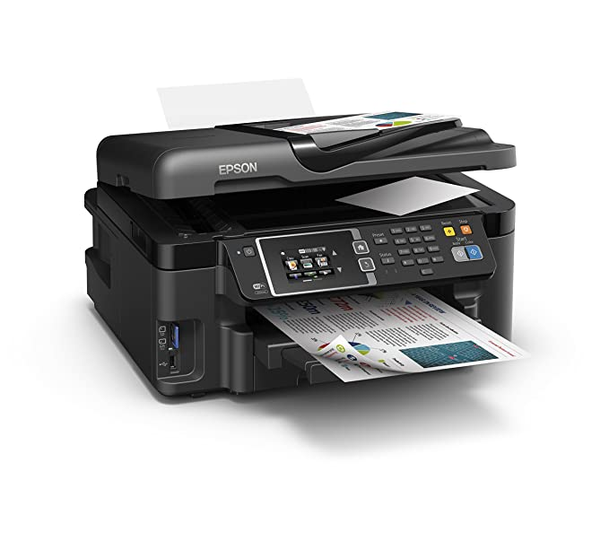 Epson Workforce WF-3620DWF Inyección de Tinta 19 ppm 4800 x 2400 ...