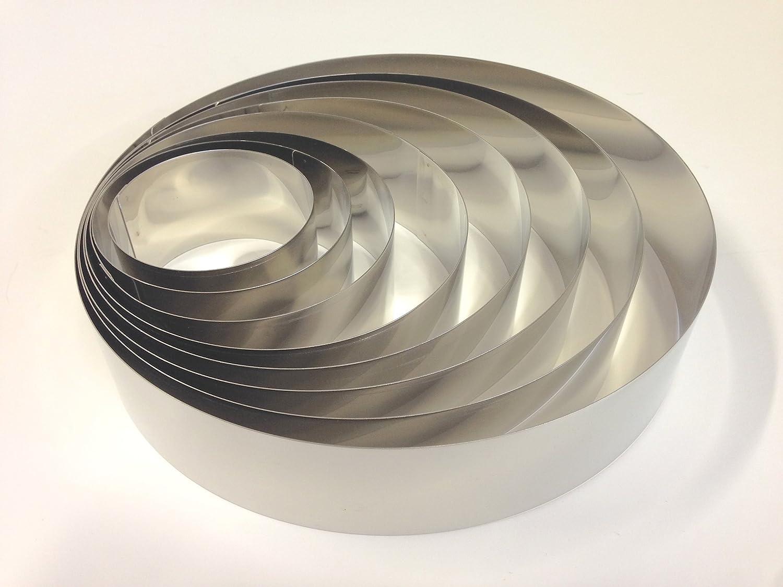 Kit coppapasta 8 pezzi in acciaio inox. Cod. 990270