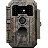 GardePro Trail Camera 20MP 1080P Game Camera with H.264 Video 90ft Night Vision Motion Activated IP66 Waterproof for Outdoor