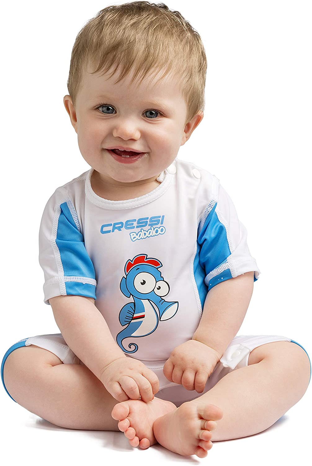 Cressi Toddlers and Babies Sun Protection Full Rash Guard for Swimming and Water Activities