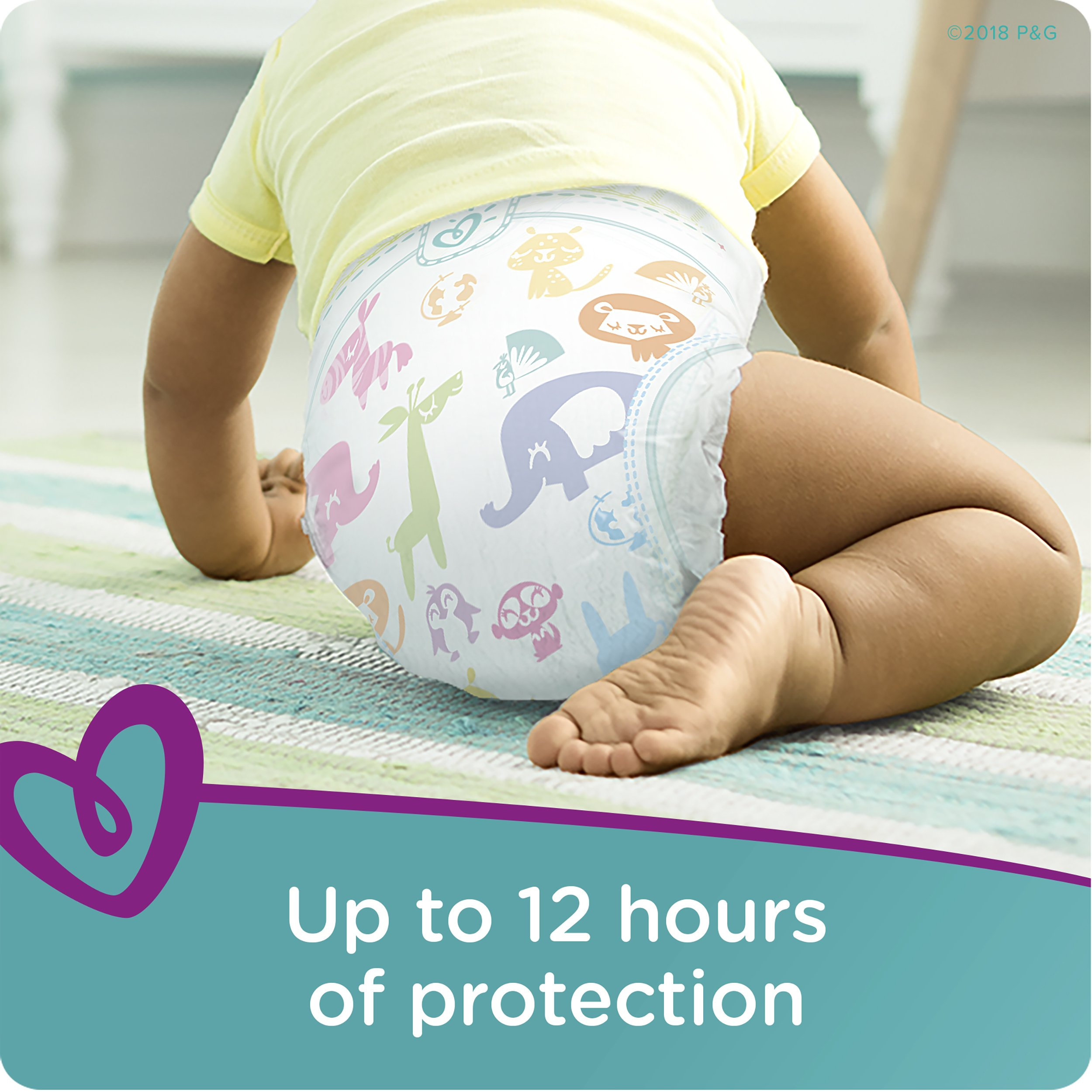 Pampers Cruisers Disposable Diapers Size 6, 108 Count by Pampers (Image #5)