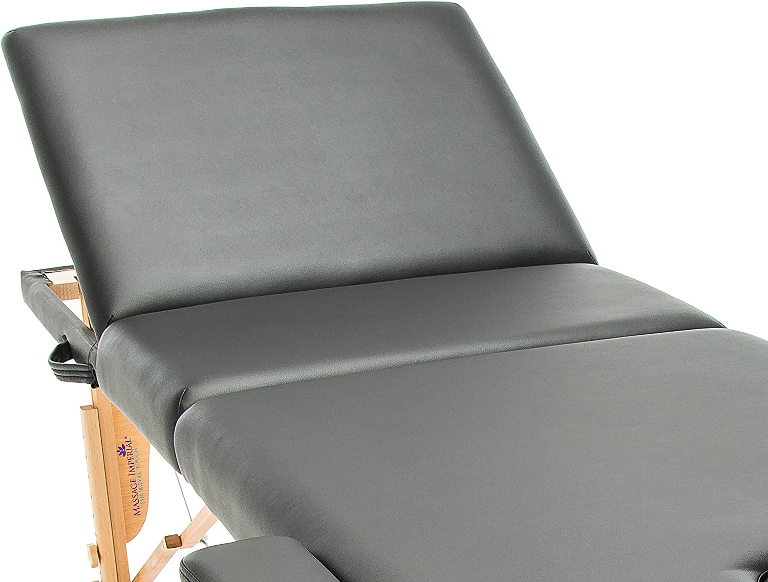 Massage Imperial Deluxe Lightweight Black 3 Section Portable